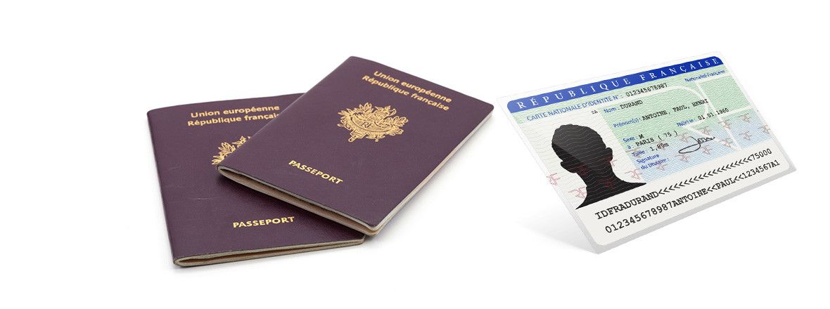 Carte Passeport.Passeport Carte Nationale D Identite